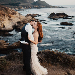 Yesterday's Big Sur elopement with these two beauties was absolutely dreamy. I'm grateful for the ho