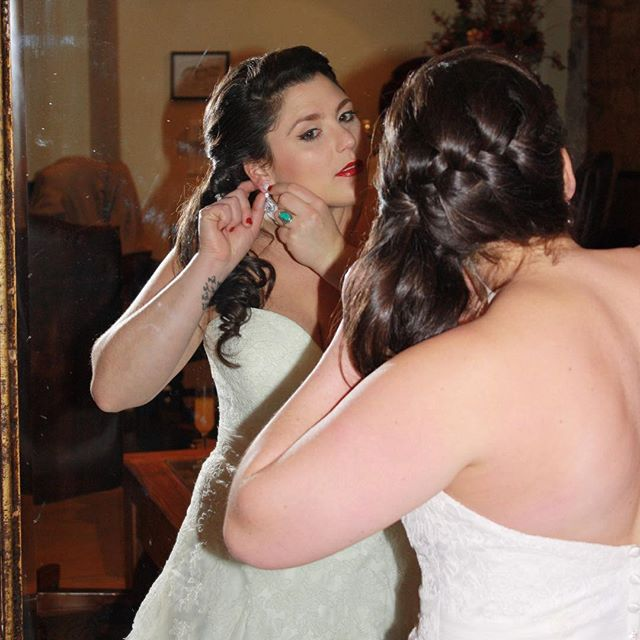 This sweet bride was so much fun to styl