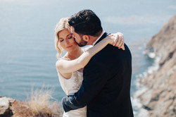 Intimate elopement in Big Sur