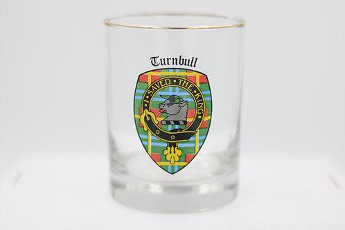 Turnbull Clan Crest Glass