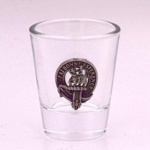 Craig Clan Crest Shot Glass
