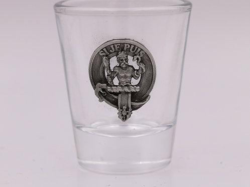 Livingstone Clan Crest Shot Glass