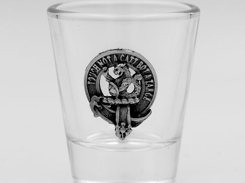MacBean Clan Crest Shot Glass