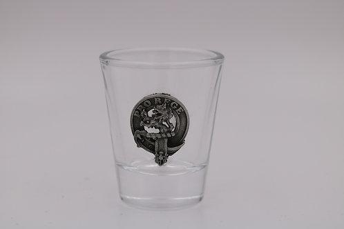MacPhee Crest Shot Glass