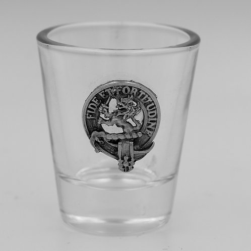 Farquharson Clan Crest Shot Glass