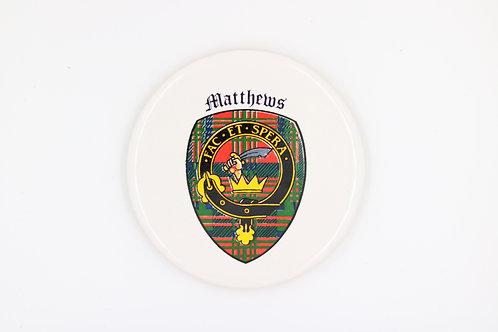 Matthews Coaster
