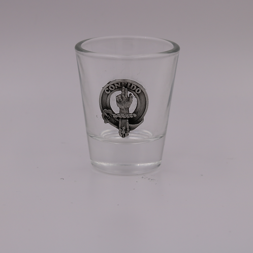 Boyd Clan Crest Shot Glass