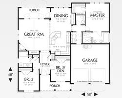 1580 Floor Plan