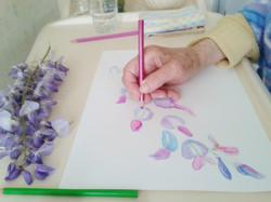 Art-thérapie en EHPAD