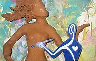 art-thérapie arts plastiques modelage dessin couleur
