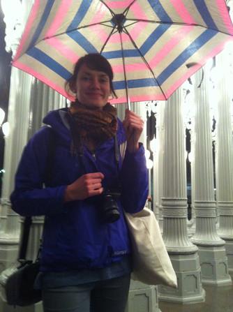 Gaga For Aga Ambling Between Rain Drops