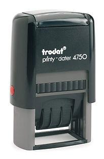 Estampes Panco - dateur et numéroteur trodat