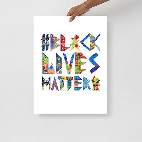 The Eighteen Black Lives Matter Poster