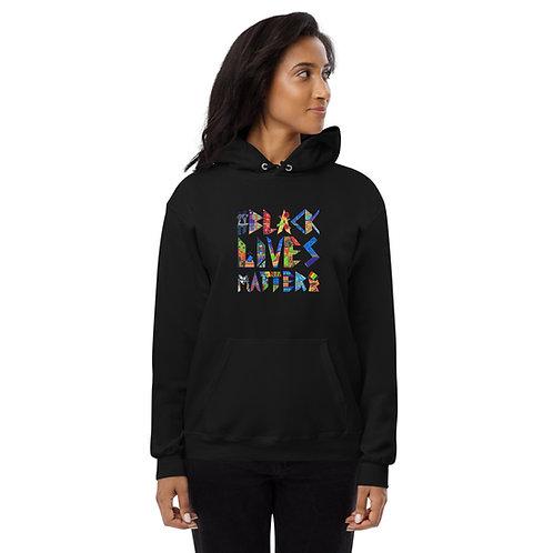 Unisex fleece hoodie EIGHTEEN BLM INDY