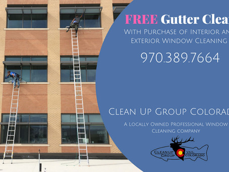SUMMER PROMOTION! FREE GUTTER CLEAN