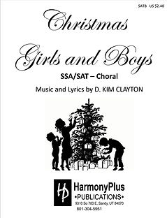 Christmas Girls and Boys Print Cover JPE