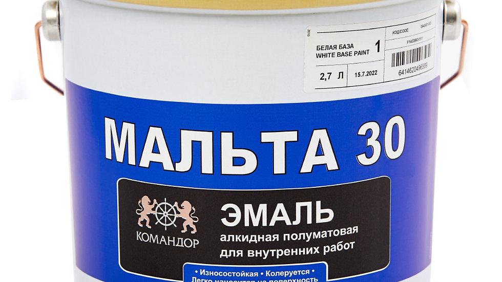 МАЛЬТА 30 алкидня эмаль | цена за литр, от