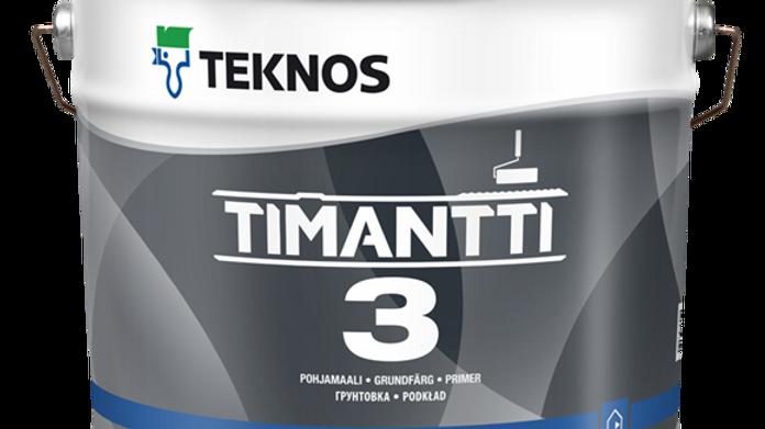 TIMANTTI 3 матовая грунтовочная краска | цена за литр, от