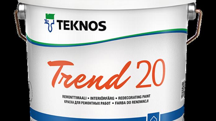 TREND 20 интерьерная краска | цена за литр, от