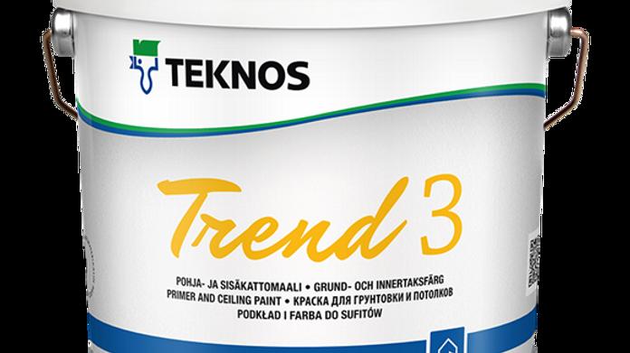 TREND 3 матовая краска для потолков | цена за литр, от