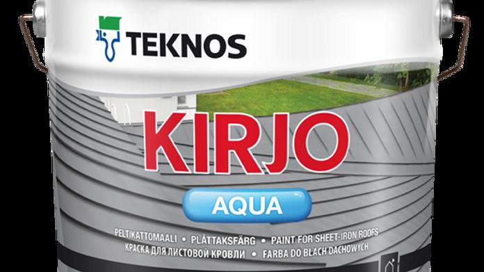 KIRJO AQUA краска для кровли и металла | цена за литр, от