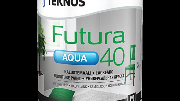 FUTURA AQUA 40 акрилатная краска   цена, от