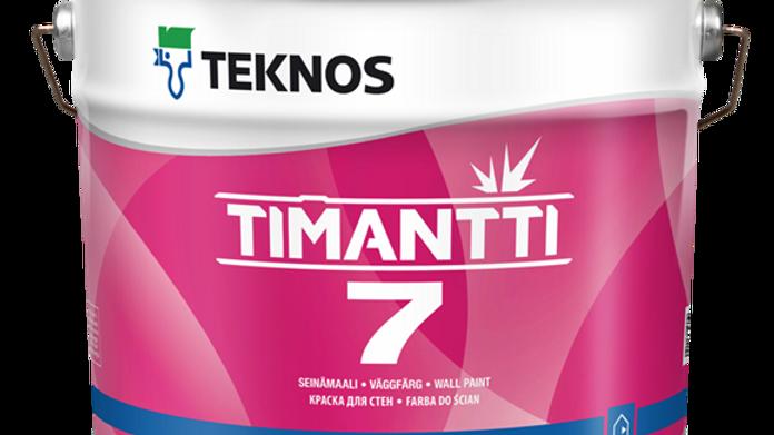TIMANTTI 7 матовая износ краска для стен и потолков | цена за литр, от