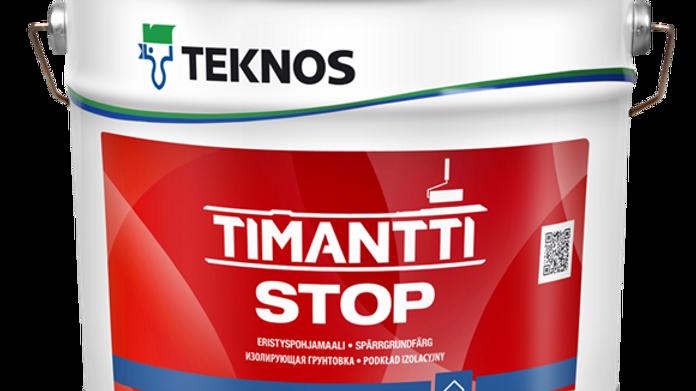 TIMANTTI STOP изолирующая белая краска для влажных пом   цена за литр, от