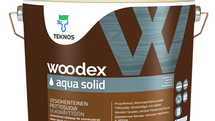 WOODEX AQUA SOLID кроющий антисептик | цена за литр, от