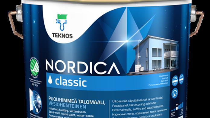 NORDICA CLASSIC п/м краска дер фасадов | цена за литр, от