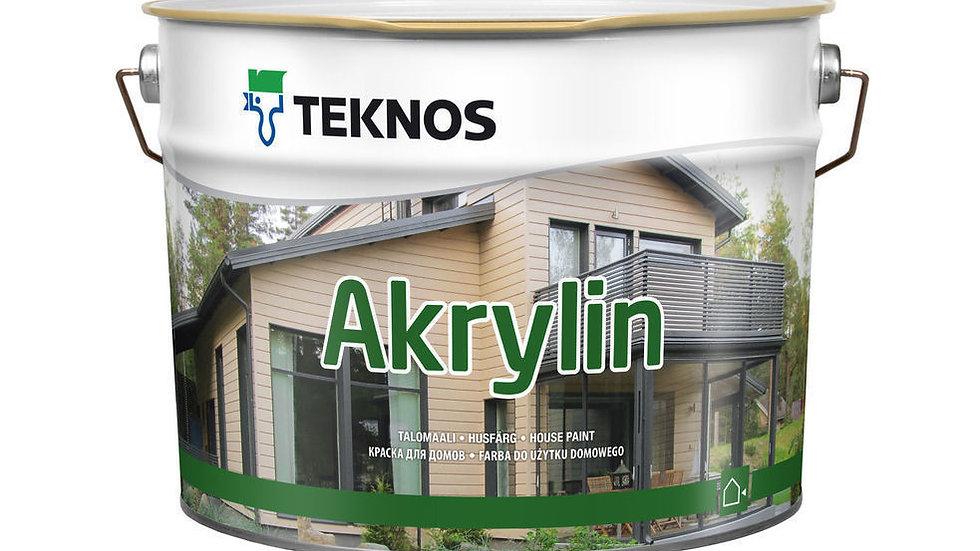 Akrylin для деревянных фасадов от