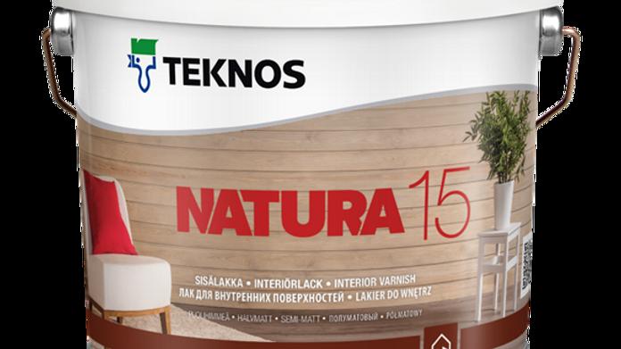 NATURA 15 мат водный лак для внутр. работ | цена за литр, от