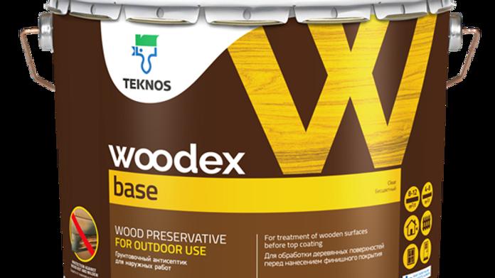 WOODEX BASE грунтовочный антисептик   цена за литр, от