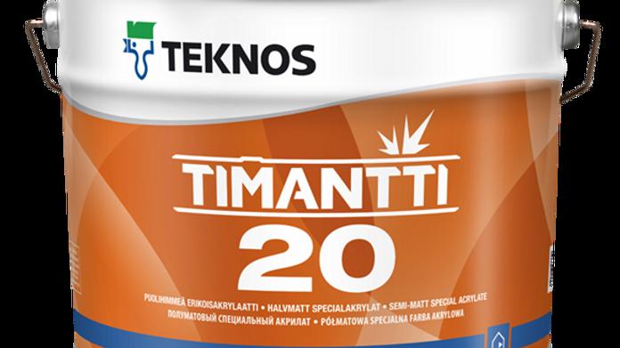 TIMANTTI 20 п/мат износ интерьерная краска   цена за литр, от