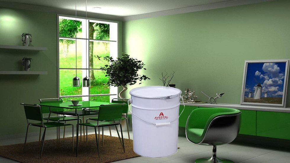 Краска Интерьерная для стен и потолков, прочная, матовая
