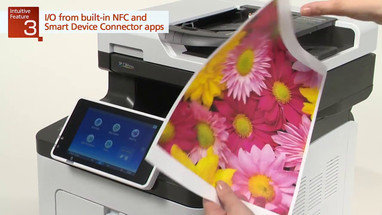 Introducing Ricoh's new intuitive SP C360/SP C361 MFP series
