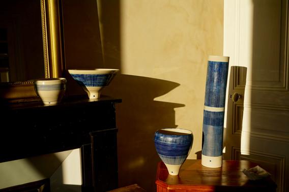 Virginie Belle, céramiques  ©Virginie Be
