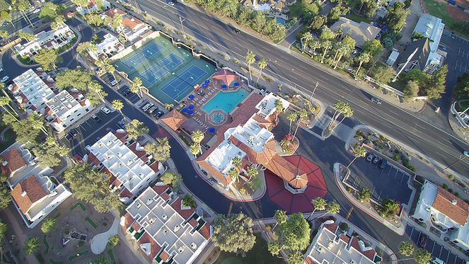Aerial view of Scottsdale Camelback Resort