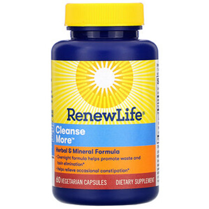 RenewLife Cleanse More 60 Caps