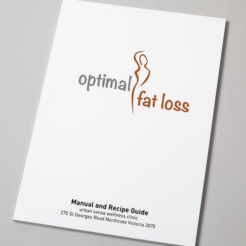 Optimal Fat Loss Manual and Recipe Guide
