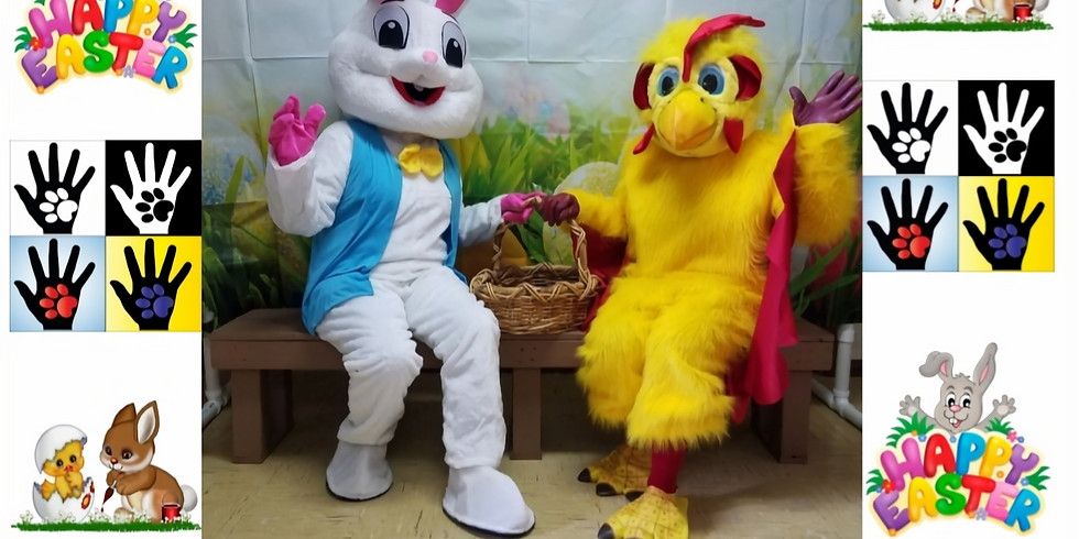Pics with the Easter Bunny