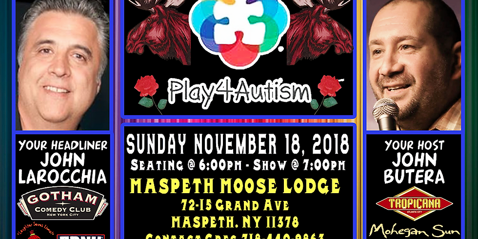 A Night of Comedy for Play4Autism