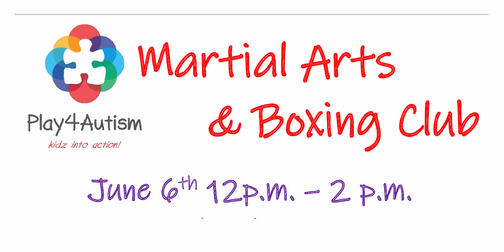 Martial Arts/Boxing Club Open House