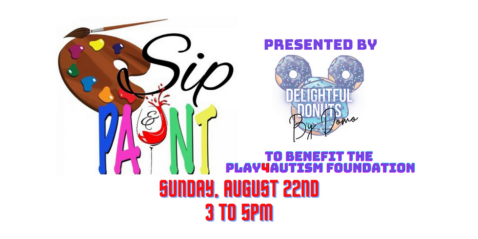 Sip & Paint Presented by Delightful Donuts By Domo