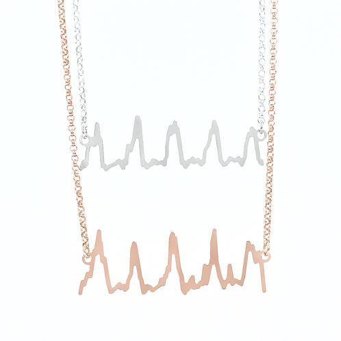 Original Double Heartbeat Necklace