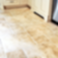 Tile floor deep cleaning and stain removal