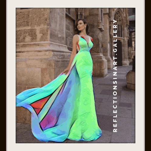 digital photo, gif, digital bride, digital fashion, digital wedding