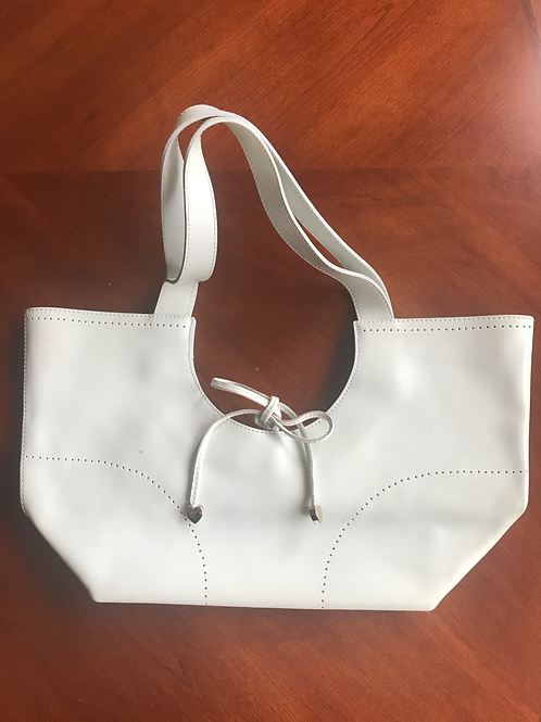 Authentic Furla 100% Leather Tote Handbag