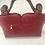 Thumbnail: Exotic Flower Applique PU Leather Tote Handbag
