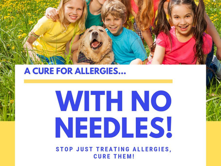 A Cure for Allergies–with NO NEEDLES!